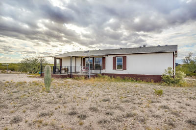 Pima County Manufactured Home For Sale: 4850 E Whispering Sage Road
