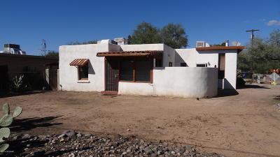 Tucson Single Family Home Active Contingent: 3255 E Glenn Street