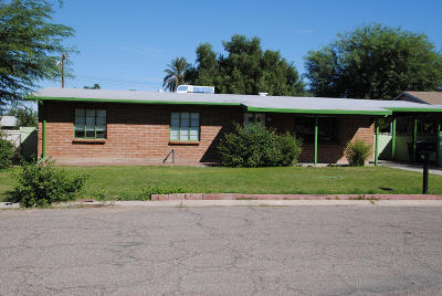 Pima County Single Family Home For Sale: 1526 W Kilburn Street