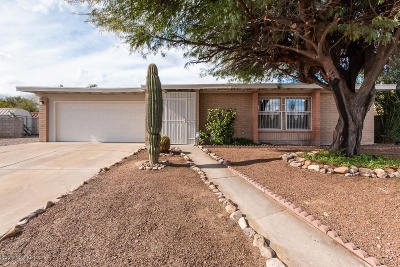 Tucson Single Family Home For Sale: 7761 N Rasmussen Avenue