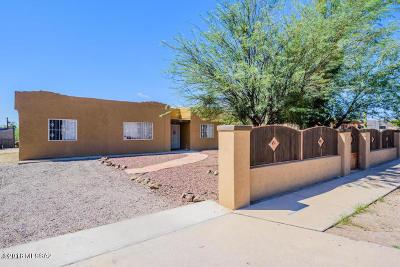 Tucson Single Family Home For Sale: 1709 W San Ricardo Boulevard