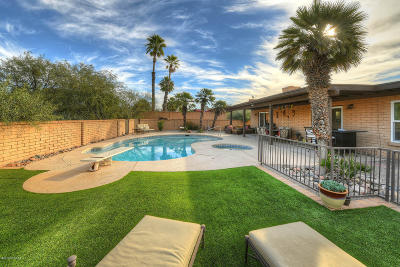 Pima County Single Family Home For Sale: 7901 E Garland Road