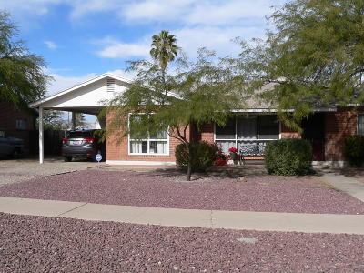 Tucson Single Family Home For Sale: 6659 E Lehigh Drive