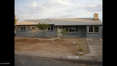 Tucson Single Family Home For Sale: 6052 E 28th Street
