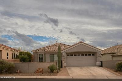 Marana Single Family Home For Sale: 5319 W Tortolita Flats Lane