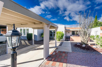 Pima County Townhouse Active Contingent: 251 N Cactus Loop