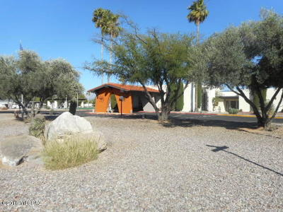 Pima County, Pinal County Manufactured Home Active Contingent: 150 W Pinon Drive