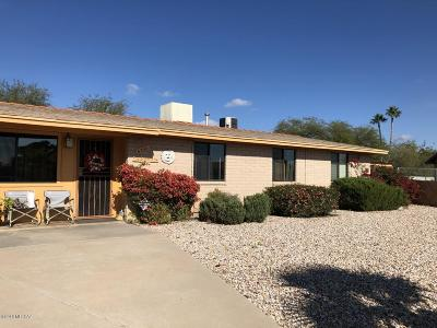 Single Family Home Active Contingent: 6350 S Cactus Wren Place