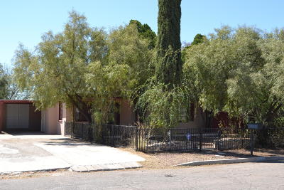 Tucson AZ Single Family Home For Sale: $156,500