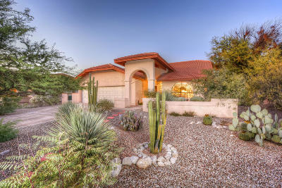 Tucson Single Family Home For Sale: 8251 E Cholla Drive