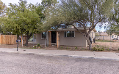 Tucson AZ Single Family Home Active Contingent: $150,000