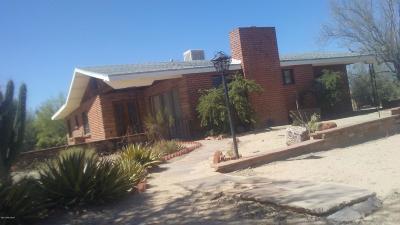 Tucson Single Family Home For Sale: 3649 W Sahuaro Divide