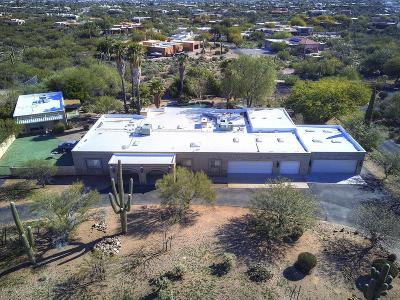 Pima County Single Family Home For Sale: 2190 N Ironwood Crest Drive