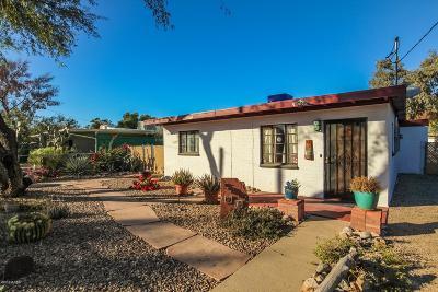 Tucson AZ Single Family Home For Sale: $140,000