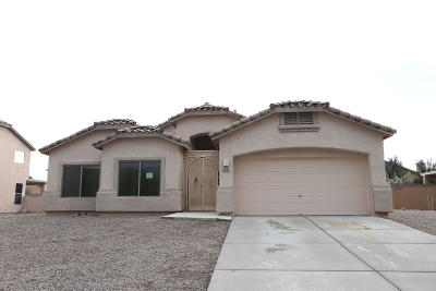 Tucson Single Family Home Active Contingent: 4427 S Camino De Oeste