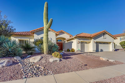 Tucson AZ Single Family Home For Sale: $540,000