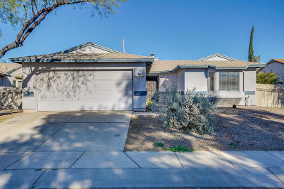 Tucson Single Family Home For Sale: 2600 W Whisbrook Lane