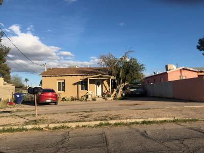 Tucson Single Family Home For Sale: 3465 S Clark Avenue #1/2