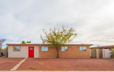 Tucson Single Family Home For Sale: 3435 S Calle Polar