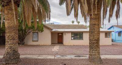 Tucson Single Family Home For Sale: 5626 E 2nd Street