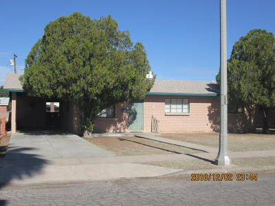 Tucson Single Family Home For Sale: 2357 E Eastland Street