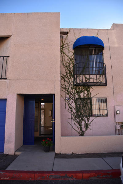 Tucson Townhouse For Sale: 234 E Pastime Road