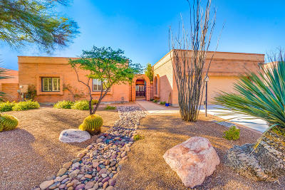 Tucson AZ Single Family Home For Sale: $595,000