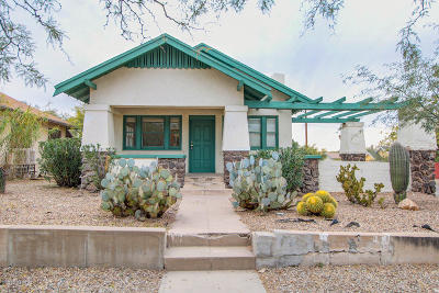 Tucson Single Family Home For Sale: 1245 N 1st Avenue
