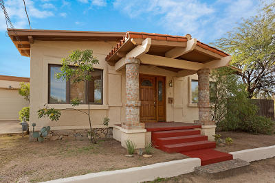 Tucson Single Family Home For Sale: 602 E Helen Street