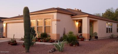 Tucson Single Family Home For Sale: 2014 S Bird Song Drive