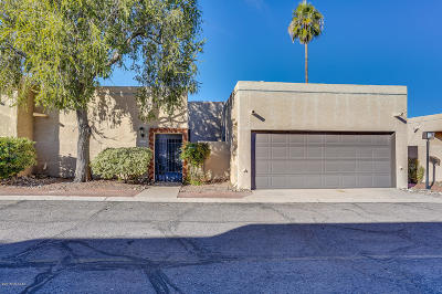 Tucson Townhouse For Sale: 643 N Richey Boulevard