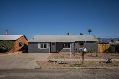 Tucson Single Family Home For Sale: 5649 E 2nd Street