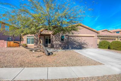 Tucson Single Family Home Active Contingent: 3379 N Belmont Mine Place