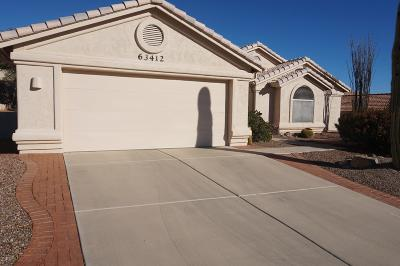 Saddlebrooke Single Family Home Active Contingent: 63412 E Desert Crest Drive
