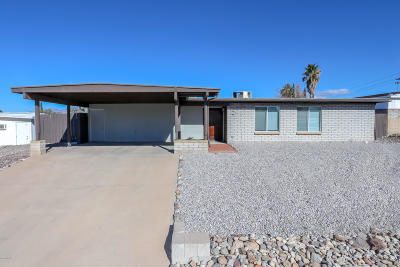 Marana Single Family Home Active Contingent: 9865 E Mary Drive
