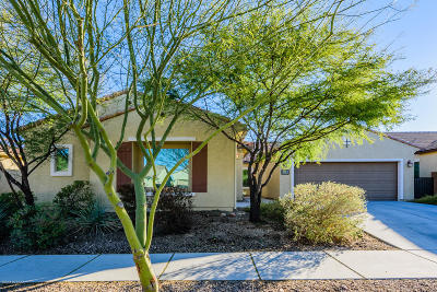 Tucson AZ Single Family Home Active Contingent: $355,000