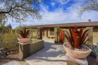 Tucson Single Family Home For Sale: 3450 E Marshall Gulch Place