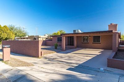 Pima County Single Family Home Active Contingent: 744 W Holladay Drive