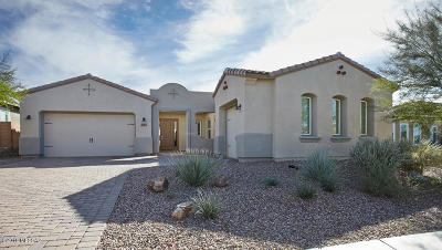 Marana Single Family Home For Sale: 7425 W Cactus Flower Pass