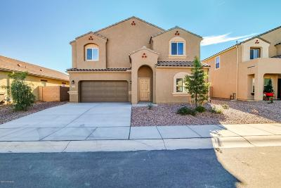 Marana Single Family Home For Sale: 9095 W Blue Saguaro Street
