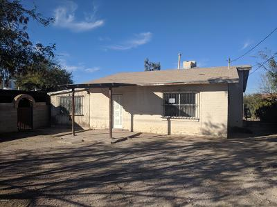 Tucson Single Family Home Active Contingent: 744 W Calle Sierra