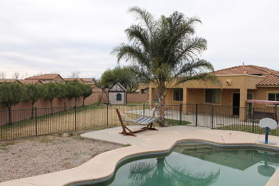 Sahuarita Single Family Home For Sale: 874 E Deer Spring Canyon Place