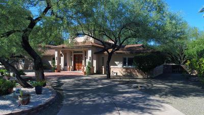 Pima County, Pinal County Single Family Home For Sale: 6115 E San Mateo
