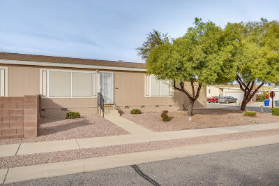 Pima County Manufactured Home Active Contingent: 6144 E House Rock Lane