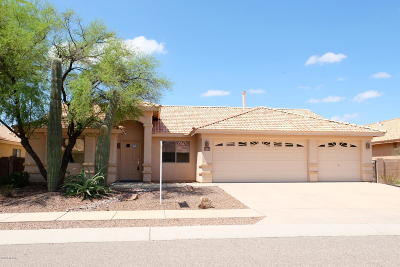 Tucson Single Family Home Active Contingent: 3462 S Sun Splash Drive