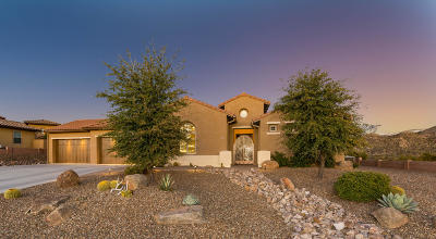 Single Family Home For Sale: 36677 S Ventana Place