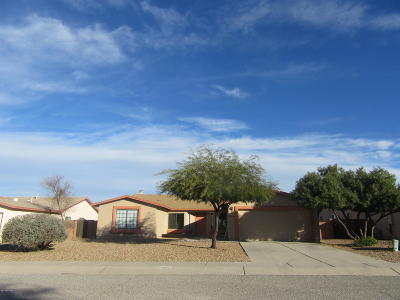 Tucson Single Family Home Active Contingent: 4630 W Hardy Road