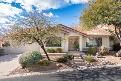 Tucson Single Family Home Active Contingent: 5545 N Waterfield Drive