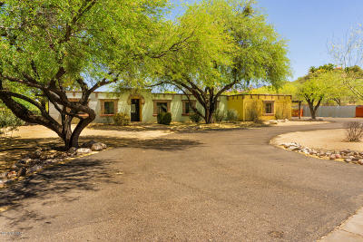 Tucson Single Family Home Active Contingent: 2600 W Magee Road