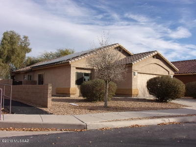 Marana Single Family Home For Sale: 11324 W Burning Sage Street